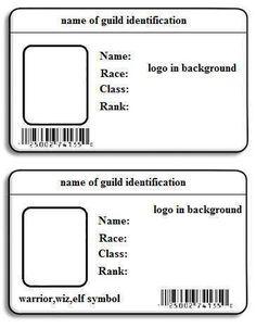 Name Badge Template, Id Card Template, Birthday Card Template, Collage Template, Employee Id Card, Card Templates Printable, Templates Free, Design Templates, Free Printable