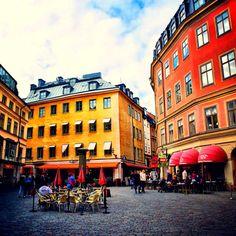 """ Gamla Stan, Stockholm, Sweden """