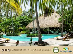 Our pools have natural salt-based treatment without any chemicals !  www.lacocoteraecoresort.com