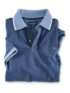 Polo Shirt Style, Polo Rugby Shirt, Mens Polo T Shirts, Mens Tees, Gentleman Mode, Gentleman Style, Mode Outfits, Fashion Outfits, Lounge Wear