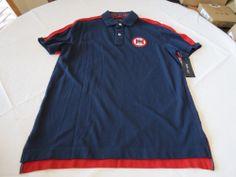Men's Tommy Hilfiger Polo shirt XL xlarge slim fit 7845145 Iris pt 992 navy knit