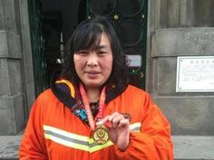 "It is reported that Tu Xiaozhen, the team leader of the cleaning division of the Management Committee of Wuchang District, rescued and persuaded 8 people who tried to commit suicide during her 8 years of sanitation work, and she was listed in ""Good Chinese People"" in February 2016."