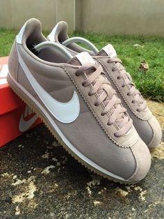 buy popular 142b3 5bb7d Details about Nike Cortez Classic Nylon Size 11.5 UK Trainers EU 47  Sepia  Stone  807472-202