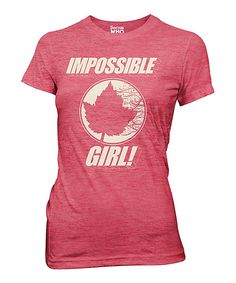 Doctor Who Impossible Girl Leaf Tee - Women
