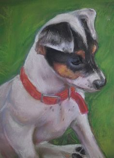 Floss - pastel on paper