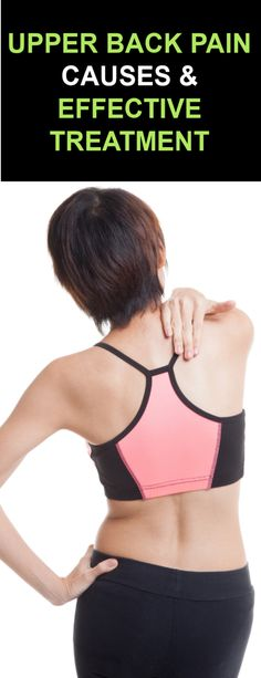Upper Back Pain Causes & Treatment with Effective Ancient Herbal Remedies Upper Back Pain Exercises, Upper Back Muscles, Back Pain Symptoms, Back Pain Remedies, Muscle Strain, Neck And Back Pain, Muscle Spasms, Sports Medicine, Herbal Remedies