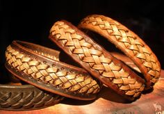 Jeweleeches Vivian Hebing handmade leather braided bracelets