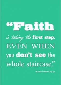 Faith is...