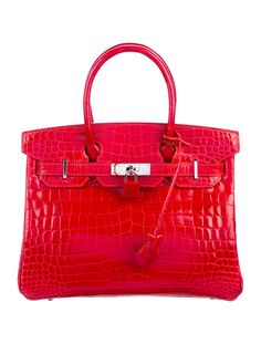 d202db93910 Hermès Shiny Niloticus Crocodile Birkin 30 - Handbags - HER161694 | The  RealReal