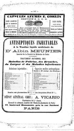 Publicités, L'Union pharmaceutique : journal de la Pharmacie centrale de France : organe des intérêts scientifiques, pratiques et moraux de la profession, novembre 1887