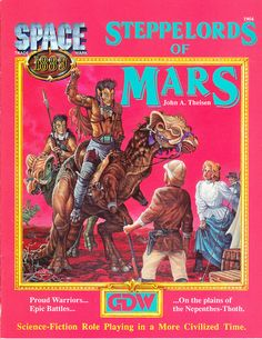 Space 1889: Steppelords of Mars ~ GDW (1989)