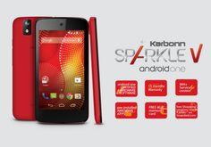 The funkiest, coolest, smartest, awesomest smart phone Karbonn Sparkle V