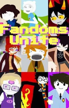 """Welcome to Fandomstuck... once you're here, there's no way out..."" (^no way out indeed)"