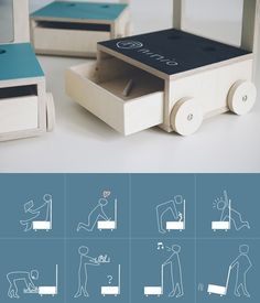 Glücksstuhl, wonderful multi-function chair - Petit & Small