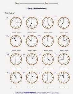 Telling Time, Multiplication, Kids And Parenting, Worksheets, Writing, School, Blog, Google, Digital Watch