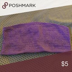 Bandeau top Purple bandeau top No Boundaries Intimates & Sleepwear Bandeaus