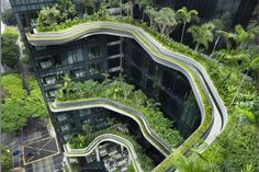 ParkRoyal on Pickering à Singapore. (Photo gracieuseté WOHA – Patrick Bingham-Hall)