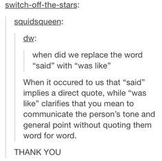 Please don't diss young people's language without trying to understand the nuances first.