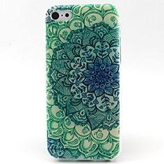 groene bloemen patroon TPU materiaal zacht telefoon Case voo... – EUR € 3.39