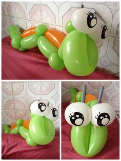 Balloon caterpillar