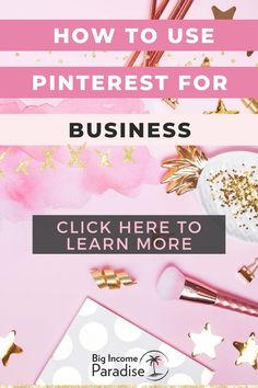 Do you know how to use Pinterest for your business and drive traffic to your blog? Check these best Pinterest marketing tips from Big Income Paradise. Learn how to grow your blog traffic and business. Create an effective Pinterest marketing strategy that will help you grow your business. You will also get a Free Pinterest Marketing Course that will teach you how to get massive traffic from Pinterest. Business Checks, Business Tips, Email Marketing Strategy, Successful Online Businesses, Pinterest For Business, Make More Money, Growing Your Business, Pinterest Marketing, Being Used