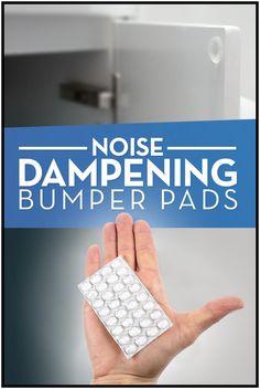 64 door buffers dampen harsh sounds of slamming doors White Subway Tile Bathroom, Subway Tiles, Home Hacks, Household Items, Homemaking, Home Projects, Kitchen Remodel, Home Improvement, Sweet Home