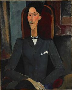 Amedeo Modigliani, Jean Cocteau, 1916 on ArtStack #amedeo-modigliani #art