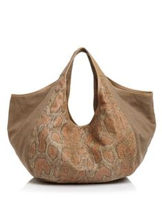 TOMS Sequoia Snake Print Canvas Hobo Handbags - Hobos   Shoulder Bags -  Bloomingdale s 3a76e50487