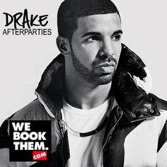 Book Drake afterparties with us!