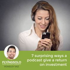 Should you only do a podcast if you can generate an income directly from it? I believe the answer is 'no'. Yes, money is important, but it's not the only way you can get return on time invested.