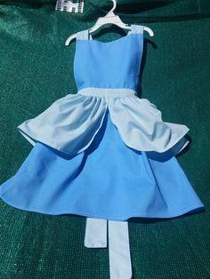 Cinderella Apron Princess Costume Apron by flightofwhimsy on Etsy