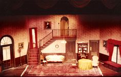 Theatre Set - Arsenic and Old Lace by Joseph Kesselring ~~(A+OL set design)