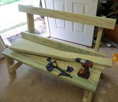 How to Make the Back of the Bench