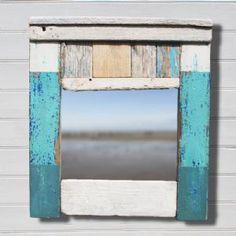 Coastal Driftwood Mirror   Wall Mirror