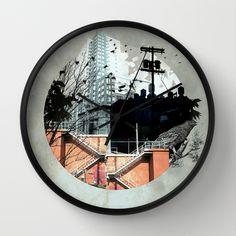 Fractal+Disjunction+Wall+Clock+by+Liz+Brizzi+-+$30.00