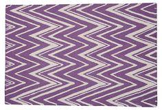 Manhattan Rug by Safavieh, Purple/Ivory on OneKingsLane.com
