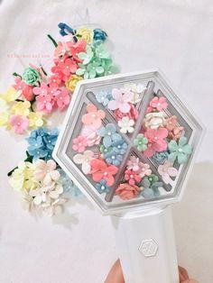 Lightstick Exo, Exo Official, Exo Fan Art, Flower Decorations, Decorative Boxes, Idol, Korean, Meme, Journal