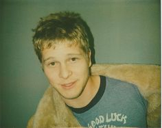 Old Polaroid photo of an audition head shot of young Matt Czuchry … gift that keeps on giving