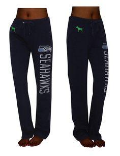 NFL Seattle Seahawks Womens Pink Victoria's Secret Pajama Pants by Victoria's Secret