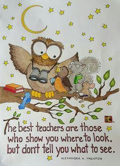 Teacher's from Mary Engelbreit's book Color Me