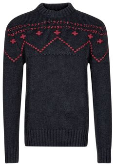 #knitted #sweater Lyle & Scott Stickad tröja - Blått: http://zln.do/16smv1F