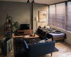 Home Decor Ideas - Beautiful And Comfortable Bedroom Decor Ideas Small Apartment Bedrooms, Apartment Interior, Apartment Design, Home Room Design, Home Interior Design, Interior Styling, Home Decor Bedroom, Home Living Room, Bedroom Ideas