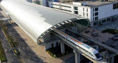 Os trens mais rápidos e velozes do mundo - Shanghai Maglev