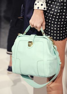 Mint Color Bag
