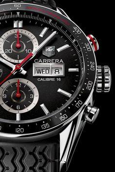 TAG Heuer Carrera Monaco Grand Prix Editon 2012 (dial closeup)