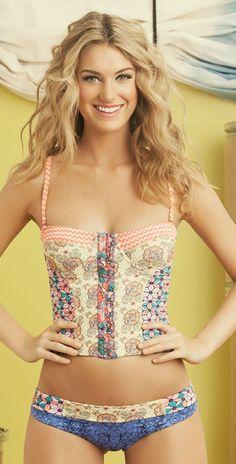 Maaji 2014 Mystic Paths Bralette Bikini Ropa De Playa b86682f45