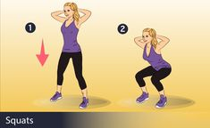 Many women dream of improving their shape but they cannot bring themselves to start training. They want to get rid of extra pounds and build a toned and taut butt without spending plenty of time at the gym. The squat is an effecti Meghan Trainor, Pilates, 30 Day Squat Challenge, Stay Young, Butt Workout, Buttocks Workout, Going To The Gym, Mat Exercises, No Equipment Workout