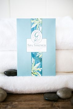 Greenleaf's Spa Springs fragrance: Aquatic notes are brightened with bergamot and green tangerine and balanced with musk and amber in a refreshing blend. Green Tangerine, Spring Spa, Bergamot, Amber, Fragrance, Notes, My Love, Gifts, Products