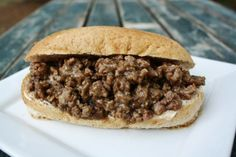 Spoon Burgers | This are good! Taste like philly cheese steaks.