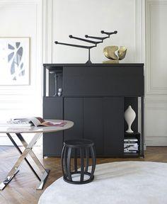 CRESO Bar Cabinet by Antonio Citterio for Maxalto.